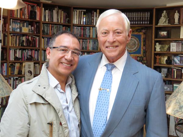 Alfredo Besosa con Brian Tracy