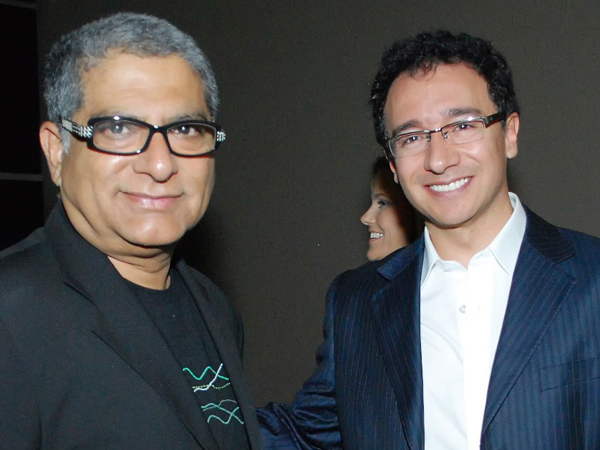 Alfredo Besosa con Deepak Chopra